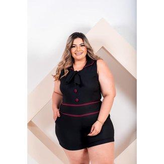 Macaquinho Plus Size  Roupas Femininas GG 48 ao 52