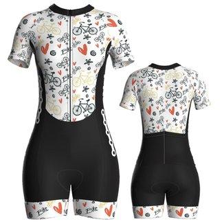 Macaquinho Pro Tour Ciclismo Feminino