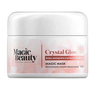 Magic Beauty Crystal Glow Mini Máscara de Revitalização Capilar 60g