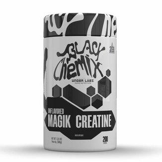 Magik Creatine 600g Monohidratada em Pó Natural Dose Energia