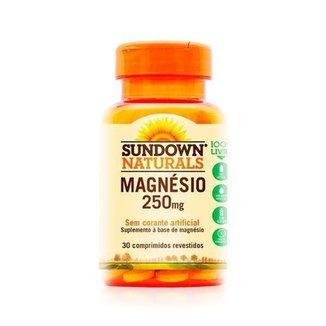 Magnésio 250mg - 30 Comprimidos - Sundown