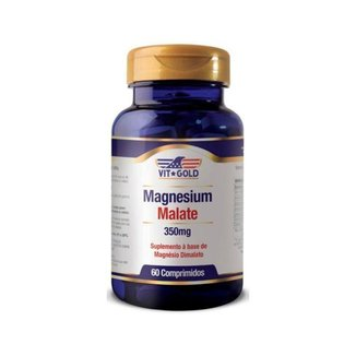 Magnésio Dimalato - 60 Comprimidos - VitGold