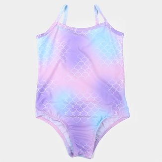 Maiô Infantil Kamylus Aquatic Proteção UV 50+
