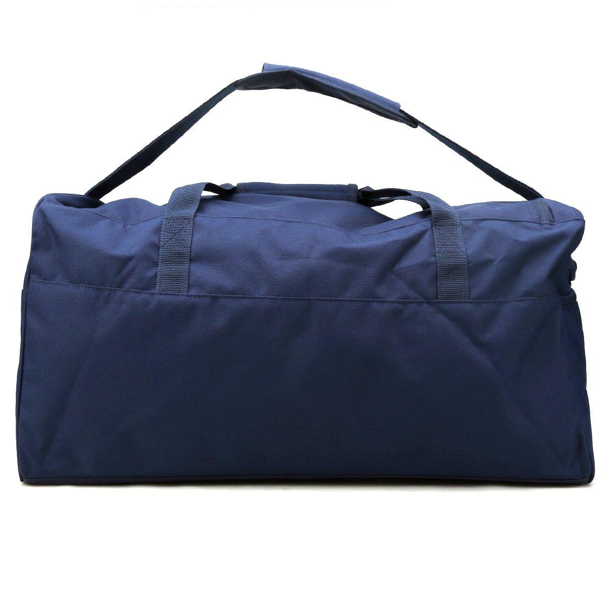 Mala Adidas Essential Linear - Marinho e Azul - Compre Agora  c6cf6e414d298