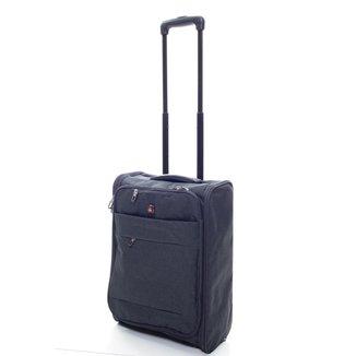 Mala De Bordo 10 kg de Viagem Pequena Dobrável Swiss Global Bag - 47623