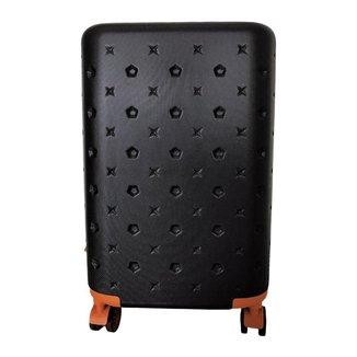 Mala De Bordo Para Viagem Pequena RedTec Itália Com Rodas 360° Cadeado Vários Compartimentos Em ABS