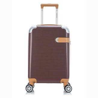 Mala de Viagem Grande (32 kg) Rígida em ABS com Rodas Duplas 360º e Cadeado TSA - Suel - Santino