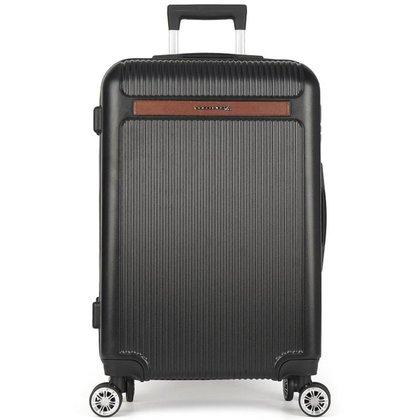 Mala de Viagem Média (23 kg) Rígida em ABS com Rodas Duplas 360º - Holambra - Polo King