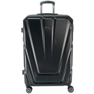 Mala de Viagem Média (23 kg) Rígida em Policarbonato com Rodas Duplas 360º e Cadeado TSA - Vegas - S