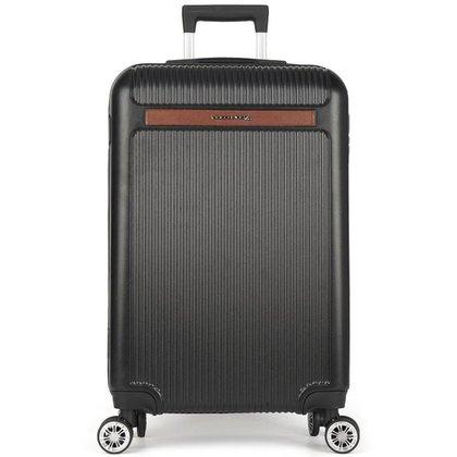 Mala de Viagem Pequena de Mão Padrão Bordo (10kg) com Rodas Duplas 360° - Holambra - Polo King