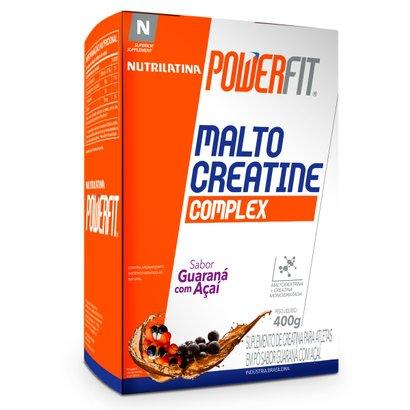 Malto Creatine Complex - 400G - Powerfit - Nutrilatina - Guaraná Com Açaí