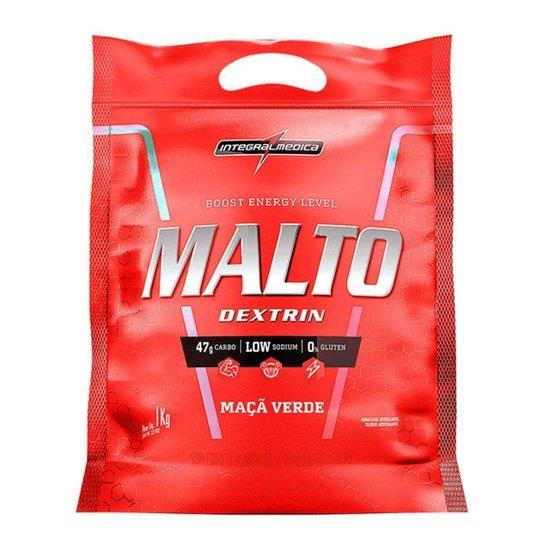 Maltodextrin - 1000g Refil Maçã Verde - IntegralMédica -