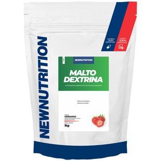Maltodextrina Morango 1Kg NewNutrition