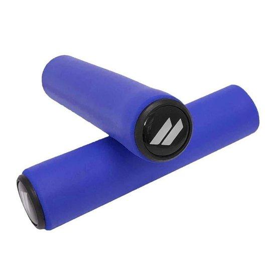 Manopla Elleven Silicone MTB - Azul