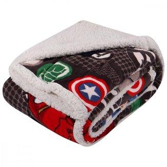 Manta Carneirinho Avengers 150X200 Pernambucanas