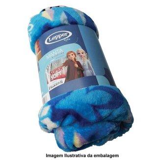 Manta Fleece Sofá Da Coleção Frozen Com 1 Peça