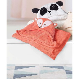 Manta Infantil Capuz Baby Mini Lepper 1 Peça - 10045882197