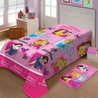 Manta Soft Disney Amigas Princesas Jolitex