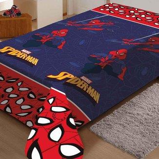 Manta Soft Juvenil Spider-Man Teia Jolitex