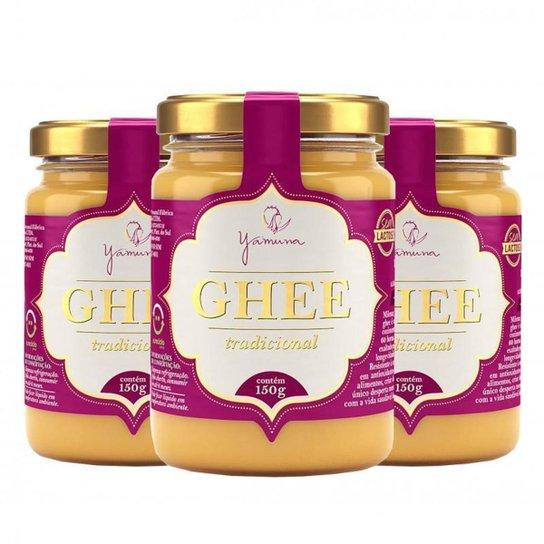 Manteiga Clarificada Ghee Kit com 3 Frascos de 150g -