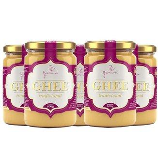 Manteiga Clarificada Ghee Kit com 5 Frascos de 300g