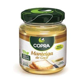 Manteiga de Coco 200ml - Copra