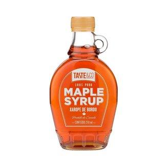 Maple Syrup 250ml Taste & Co Xarope de Bordo 100% Puro