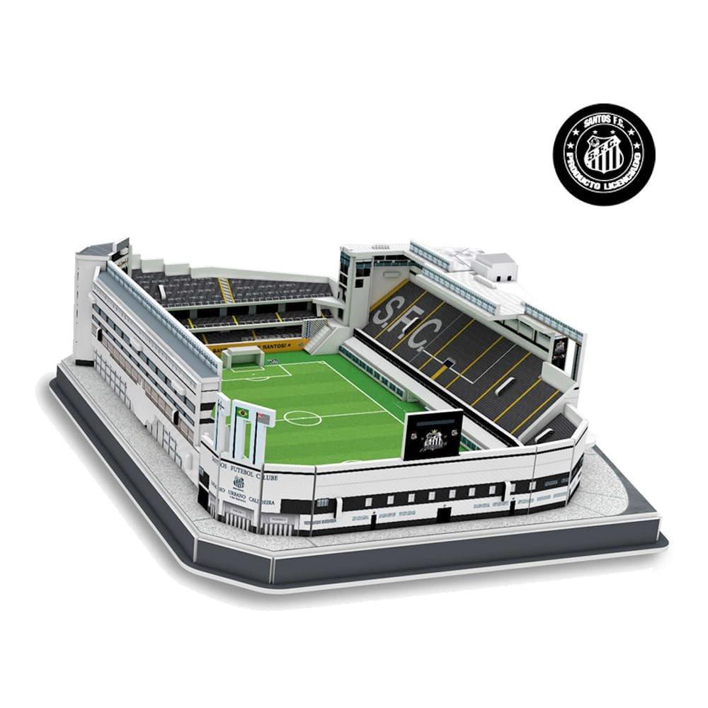Maquete 3D Estádio Vila Belmiro NanoStad - Branco - Compre Agora ... 0974fce7df84f