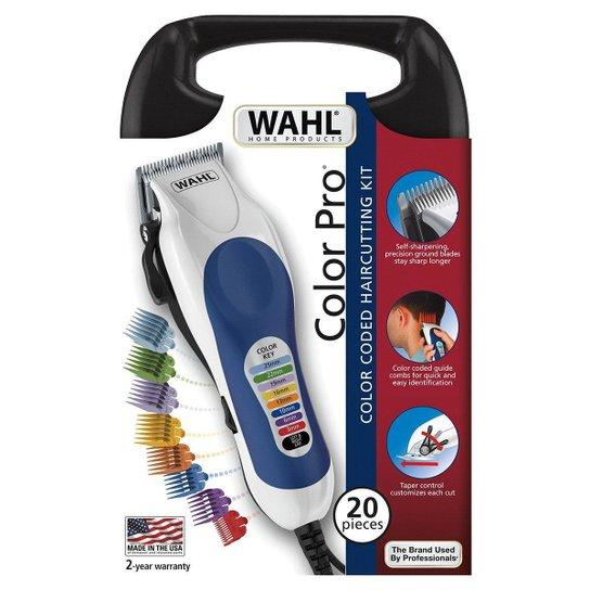 Máquina de Cortar Cabelo Wahl Color Pro 127V - Incolor