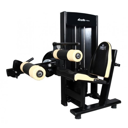 Maquina Flexora Sentada G3- Ergolife - Preto