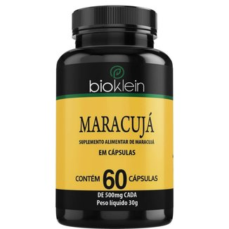 Maracujá   60 Cápsulas   Bioklein