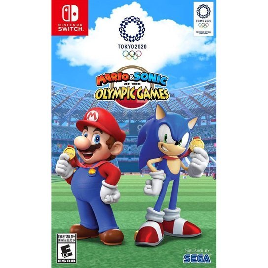 Mario & Sonic at the Olympic Games: Tokyo 2020 - SWITCH - Incolor