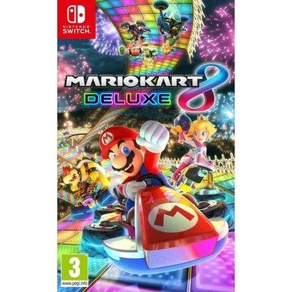 Mario Kart 8 Deluxe - Nintendo - NSW. Graças a Nintendo Switch, os fãs podem desfrutar da versão final do Mario Kart 8,...