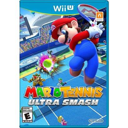 Mario Tennis Ultra Smash - Wiiu Mario E Sua Turma Se Reúnem Em Um Game De Tênis Cheio De Powerups E Jogadas Exageradas....