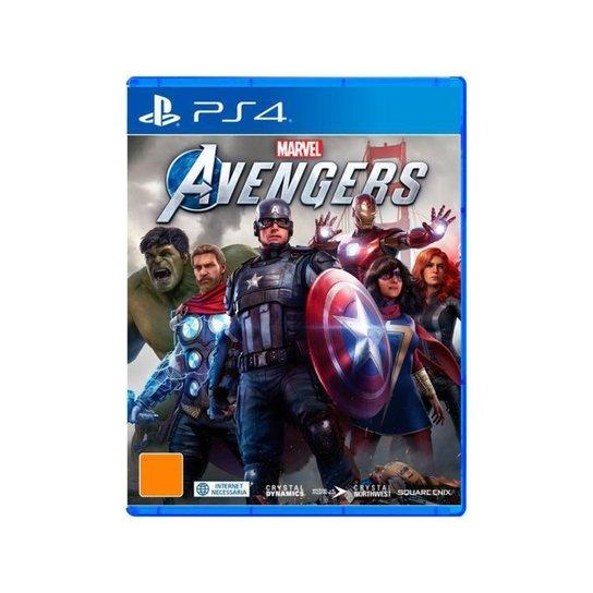 Marvels Avengers para PS4 Crystal Dynamics - Incolor