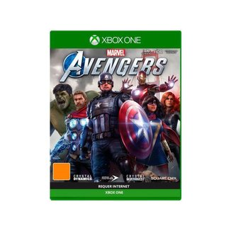 Marvels Avengers para Xbox One Crystal Dynamics