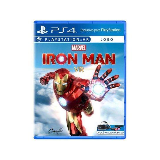 Marvels Iron Man VR para PS4 - Azul