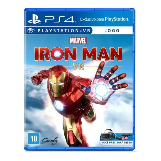 Marvel's Iron Man VR - PS4 - Incolor