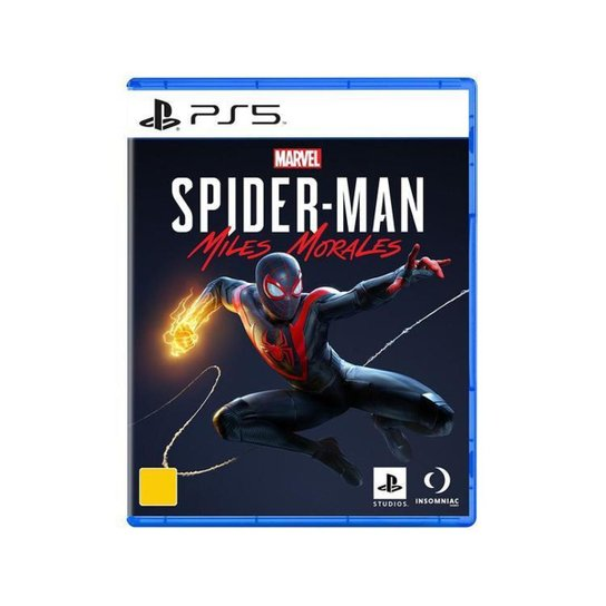 Marvels Spider-Man Miles Morales para PS5 - Incolor