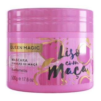 Máscara Capilar Madamelis Queen Magic Liso com Maçã 500g