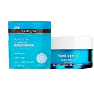Máscara de Hidrogel Neutrogena Hydro Boost 30ml +Hydro Boost Water Gel 50g