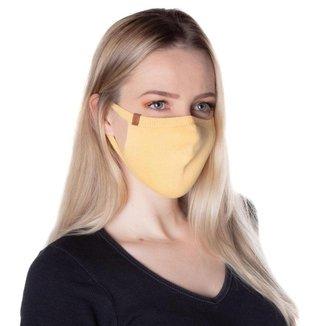 Máscara de Proteção Feminina Biamar Amarelo