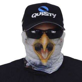 Máscara De Proteção Solar Águia 3d Uv 50 Protection - Pesca Esportiva