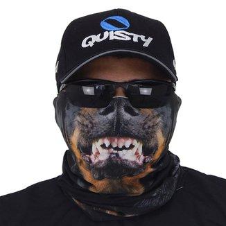 Máscara De Proteção Solar Rottweiler 3d Uv 50 Protection - Pesca Esportiva