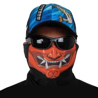 Máscara De Proteção Solar Samurai Uv 50 Protection - Pesca Esportiva