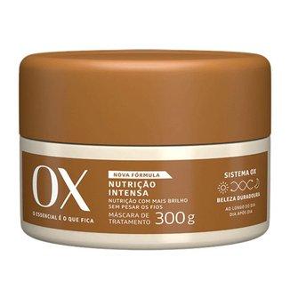 Máscara de Tratamento OX Cosmeticos Nutrição Intensa 300g