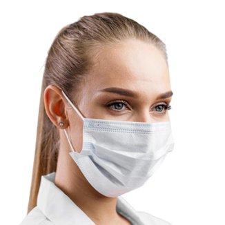 Máscara Descartável Clipe Nasal Pacote com 50000 Un Conforto