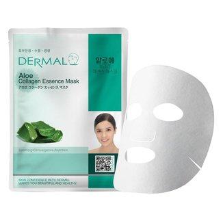 Máscara Facial Calmante Dermal - Colágeno com Aloe Vera 23g