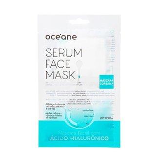 Máscara Facial com Ácido Hialurônico Océane – Sérum Face Mask 1Un