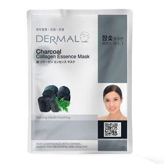 Máscara Facial Dermal – Colágeno com Carvão Vegetal 1Un